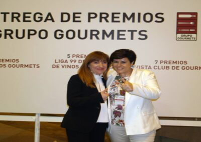 Entrega de premios grupo gourmets