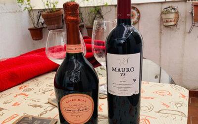 Descripción de Champagne Laurent Perrier Cuvée Rosé 🍾 y Mauro vs 2015 🍷